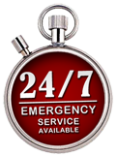 24 hour emergency service available